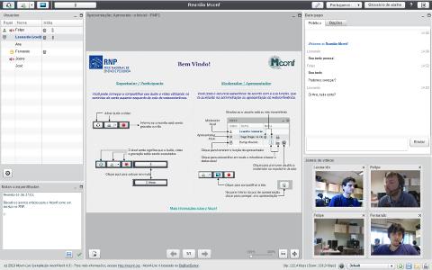 Mconf-Live Screenshot